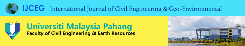 International Journal of Civil Engineering & Geo-Environmental