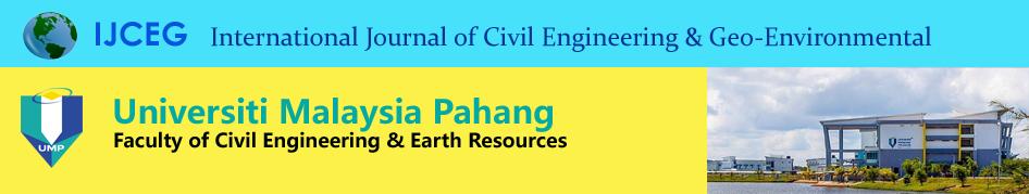 International Journal of Civil Engineering & Geo-Environmental